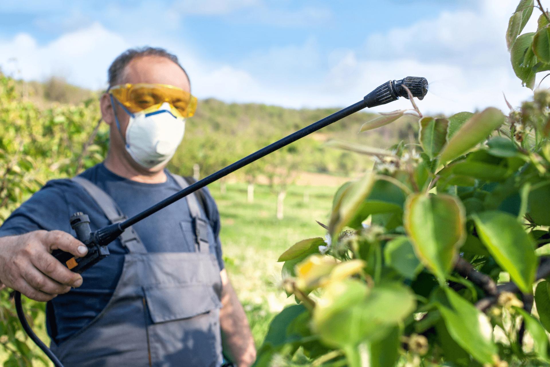 Preparación, transporte y almacenamiento de biocidas